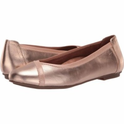 バイオニック VIONIC レディース スリッポン・フラット シューズ・靴 Caroll Metallic Rose Gold