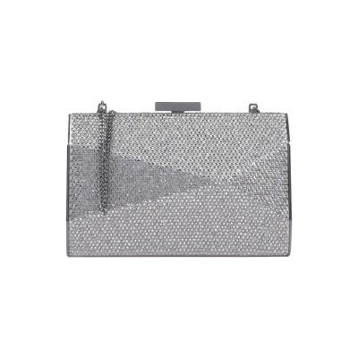 OLGA BERG ハンドバッグ グレー 紡績繊維 / 金属 / ガラス ハンドバッグ