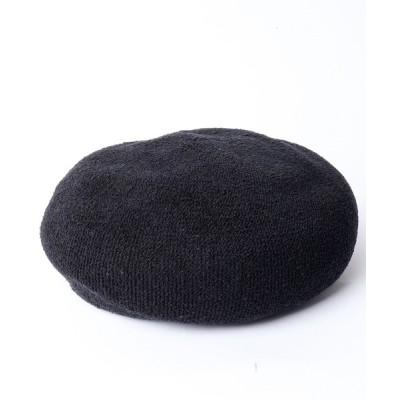 FUNALIVE / 【SENSE OF GRACE】PUFUFU BERET ベレー帽 WOMEN 帽子 > ハンチング/ベレー帽
