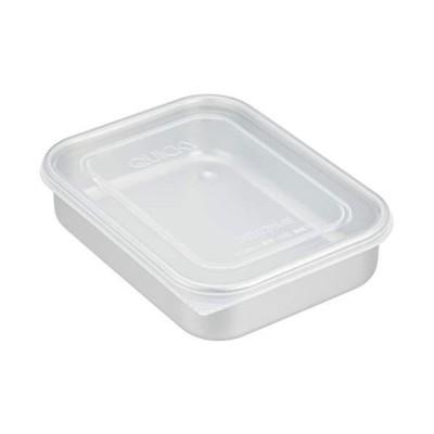 AKAO アルミ急冷・保存容器 クイッキー 浅型小 0.7L