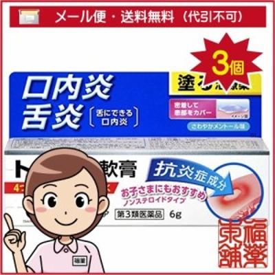 【第3類医薬品】トラフル軟膏(6g)×3個 [ゆうパケット送料無料] 「YP30」