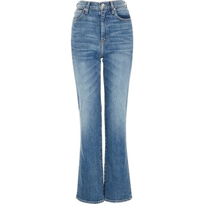 シルバーレーク SLVRLAKE レディース ジーンズ・デニム ボトムス・パンツ london blue straight-leg jeans Blue