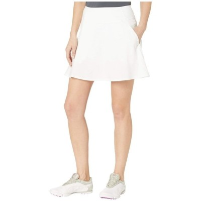 プーマ PUMA Golf レディース スカート PWRSHAPE Solid Woven Skirt Bright White