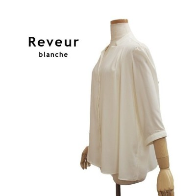 Reveur blanche レーブルブランシュブラウス(レディース/ジャケット/カットソー/長袖/半袖/春/夏/トップス/ジャケット)