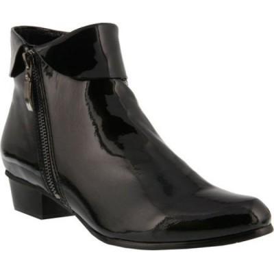 スプリングステップ Spring Step レディース ブーツ シューズ・靴 Stockholm Black Patent Leather