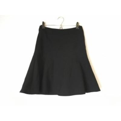 ニジュウサンク 23区 スカート サイズ36 S レディース 黒【中古】