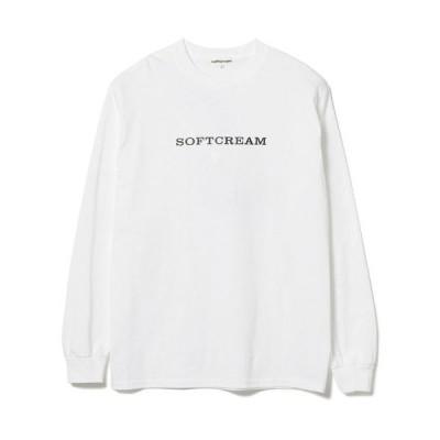 tシャツ Tシャツ SOFT CREAM / ロゴ ロングスリーブ Tシャツ