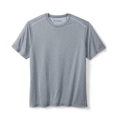 トッミーバハマ Tシャツ トップス メンズ Men's IslandZone Flip Tide Reversible Performance T-Shirt Dk Pewter