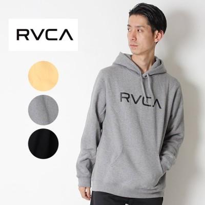 RVCA ルーカ BIG RVCA PULL ビッグロゴ パーカー 裏起毛 長袖 プリント ロゴ AI042-014 2018 秋冬 California サーフ おしゃれ かわいい アメカジ 西海岸