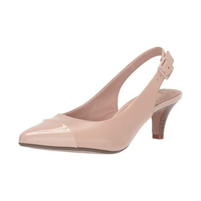 Clarks Women's Linvale Emmy Pump, Dusty Pink Leather/Synthetic, 7 M US【並行輸入品】