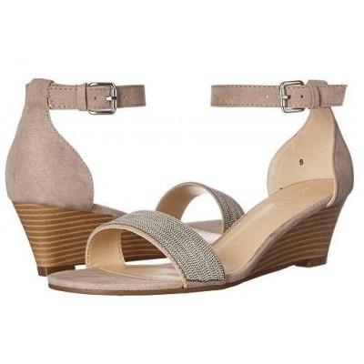 Athena Alexander アテーナアレクサンダー レディース 女性用 シューズ 靴 ヒール Enfield Sandal Wedge - Taupe Suede