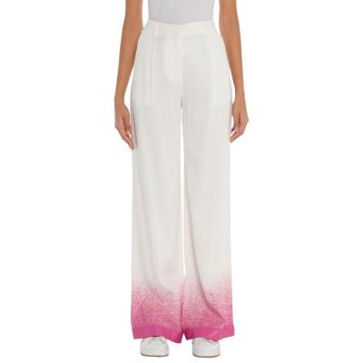 OFF-WHITE™ パンツ ホワイト 40 レーヨン 96% / ポリウレタン 4% パンツ