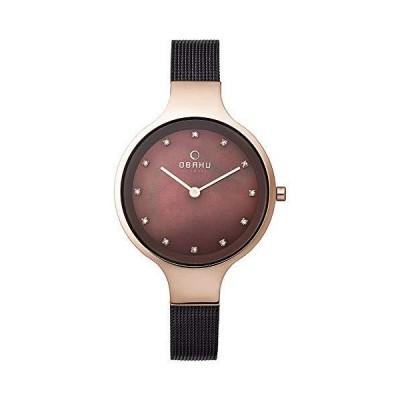 [オバック] 腕時計 V173LXVNMN  ブラウン並行輸入品