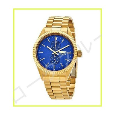 Invicta Men's Specialty Steel Bracelet & Case Quartz Blue Dial Analog Watch 29430 並行輸入品