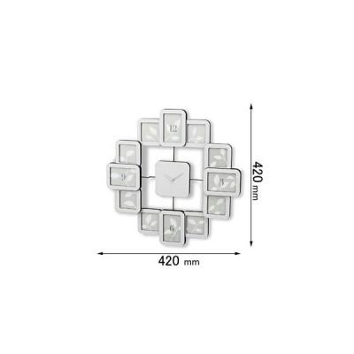 茶谷産業 掛け時計RENTOLA クロックフレーム 白 253-516W 返品種別B