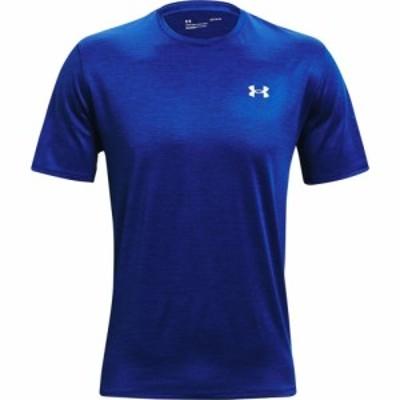 アンダーアーマー UNDER ARMOUR メンズ フィットネス・トレーニング Tシャツ トップス Training Vent 2.0 Performance T-Shirt Royal
