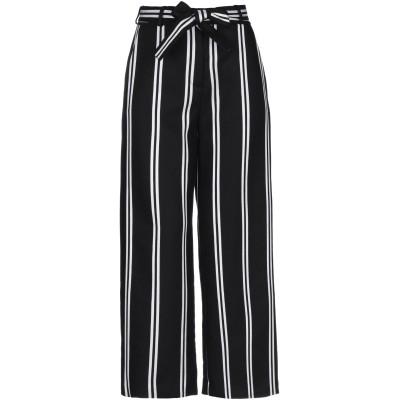 MAJE パンツ ブラック 34 レーヨン 80% / ナイロン 10% / リネン 10% パンツ