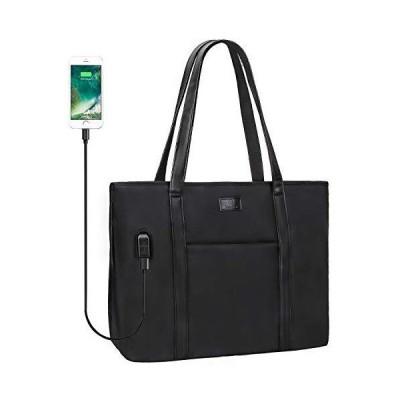 Relavel Laptop Tote Bag for Men and Women Business Work Teacher School USB Bag Briefcase Travel Fits 15.6 inch Laptop【並行輸入品】
