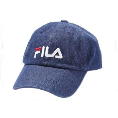 """フィラ FILA """"LINEAR LOGO""""を使用した ローキャップ メンズ 「100-113308 72リニ」"""