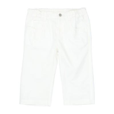 D&G パンツ ホワイト 4 コットン 100% パンツ