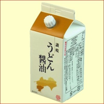 うどん醤油(紙パック)鎌田醤油製(香川県産)