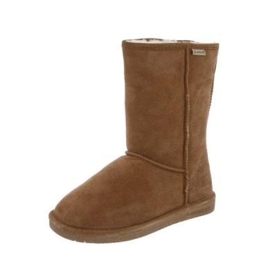 ウエスタン カウボーイ フラッツ オックスフォード フラット ぺたんこ 靴 ベアパウ Bearpaw  ブーツ レディース Emma プルオン Cow スエード ウール Blend 608W