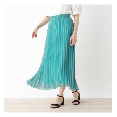 【シューラルー/SHOO・LA・RUE】 【M-LL】アコーディオンプリーツロングスカート