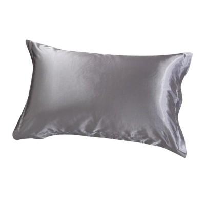 "100%Mulberrryシルク枕カバーキング-サイズ19x29 ""-枕カバーシルバー"