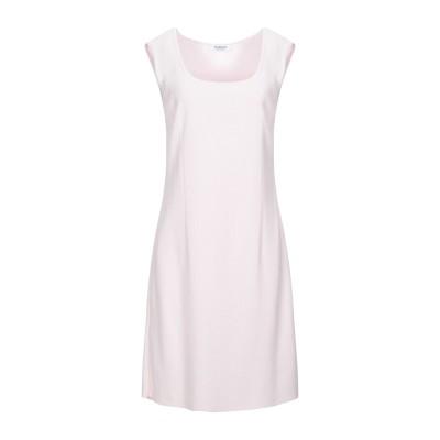 STIZZOLI ミニワンピース&ドレス ピンク 44 レーヨン 87% / ナイロン 13% ミニワンピース&ドレス