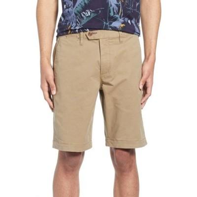テッドベーカー メンズ カジュアルパンツ ボトムス Selshor Slim Chino Shorts Natural