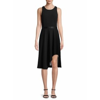 カルバンクライン レディース ワンピース Asymmetrical Fit-&amp-Flare Dress