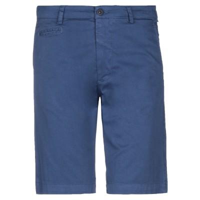 ARMATA DI MARE バミューダパンツ ブルー 44 コットン 97% / ポリウレタン 3% バミューダパンツ