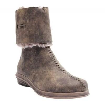 MODZORI レディース ブーツ シューズ・靴 Uma Convertible Boot Brown Reversible Faux Leather/Faux Fur