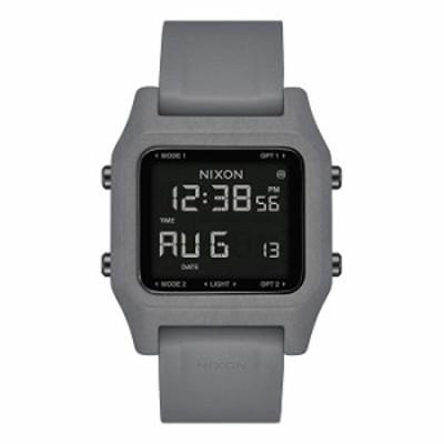 腕時計  NIXON ホチキス針 22mm PU/ゴム/シリコンバンド 28mm フェイス One Size 黒鉛
