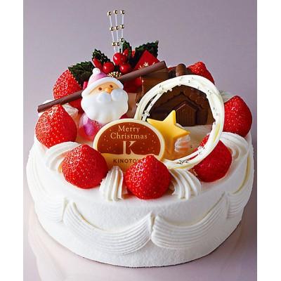 <きのとや> 52クリスマス生クリームケーキ 5号【三越伊勢丹/公式】
