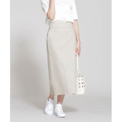 nano・universe / ウエストステッチタイトスカート WOMEN スカート > スカート