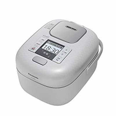 パナソニック 3合 炊飯器 圧力IH式 おどり炊き 豊穣ホワイト SR-JX056-W(中古品)