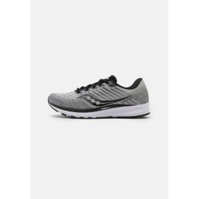 サッカニー メンズ ランニング スポーツ RIDE 13 - Neutral running shoes - alloy/black alloy/black