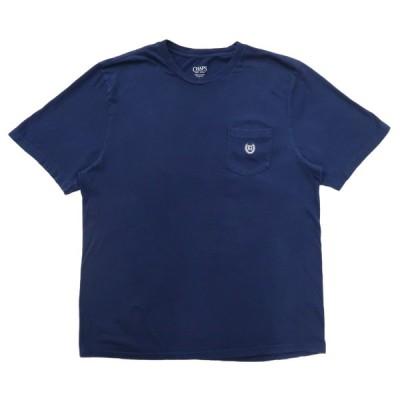 古着 チャップス CHAPS ポケットTシャツ ネイビー サイズ表記:L