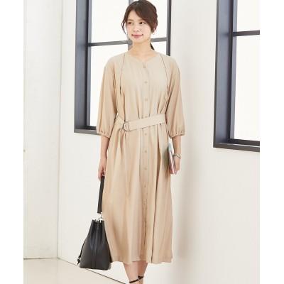 2WAYベルト付ワンピース (ワンピース)Dress