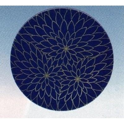 回転寿司皿 15cm 紺に金花 耐熱ABS樹脂 食器洗浄機対応 f6-1101-2