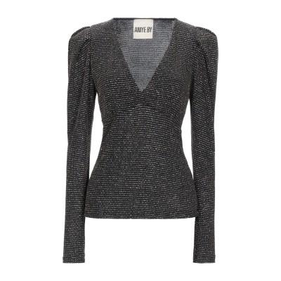 アニヤバイ ANIYE BY T シャツ ブラック S ナイロン 91% / ポリウレタン 5% / 金属繊維 4% T シャツ