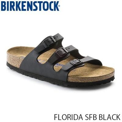 ビルケンシュトック メンズ レディース サンダル フロリダ FLORIDA SFB BLACK ビルコフロー 幅広 レギュラー BIRKENSTOCK GC053011 国内正規品