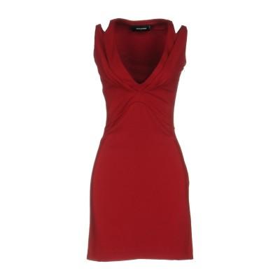 ディースクエアード DSQUARED2 ミニワンピース&ドレス レッド S レーヨン 92% / ポリウレタン 8% ミニワンピース&ドレス