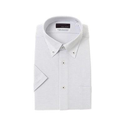 ボタンダウンスタイリッシュニットワイシャツ
