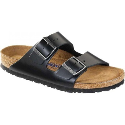ビルケンシュトック Birkenstock USA メンズ サンダル シューズ・靴 Birkenstock Arizona Soft Footbed Sandal Black Amalfi Leather