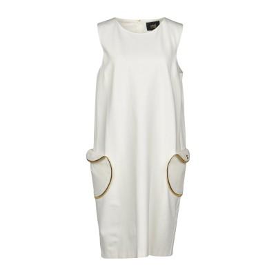 クラス ロベルト カヴァリ CAVALLI CLASS ミニワンピース&ドレス ホワイト 38 レーヨン 69% / ナイロン 25% / ポリウレ