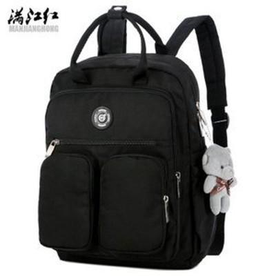 リュックリュックサックレディースリュックバッグ人気無地おしゃれかわいいカジュアルシンプル軽量通学通勤女子大容量かわいい
