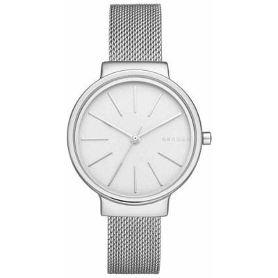 スカーゲン 腕時計 Skagen SKW2478 Ancher アンカー White ホワイト Dial Stainless Steel Mesh Bracelet レディース Watch