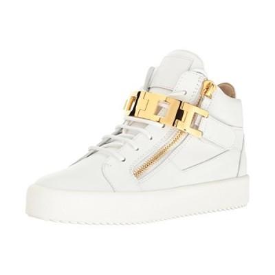 Giuseppe Zanotti Women's Rs7068 Fashion Sneaker, White, 7.5 M US【並行輸入品】